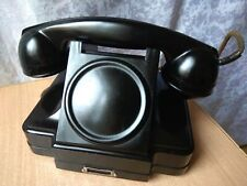 RARE Vintage antique military PHONE telephone bakelite Soviet Russian USSR retro