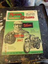 MOTOR CYCLING/Parkinson-A.J.S./BSA Twins Tips/Velocette Cover