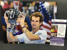 ANDY MURRAY SIGNED AUTO 8X10 PHOTO TENNIS ATP WIMBLEDON FRENCH OPEN US JSA !!