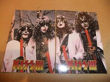 KISS SERIES 3 P1 + P2 RARE CORNERSTONE PROMO CARDS GENE SIMMONS