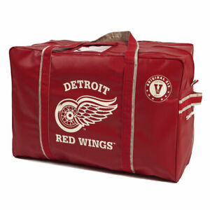 Detroit Red Wings Original Six Vintage Logo HOCKEY EQUIPMENT BAG Inglasco. NEW