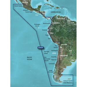 Garmin BlueChart G2 HXSA002R South America West Coast MicroSD/SD   010-C1063-20