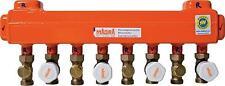 Magra Heizkreisverteiler 60/60 4 Zones + Ventile Acier Distributeur Plancher