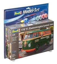 1:24 Scale Revell 67076 VW T1 Kastenwagen / Panel Van Model Set - BNIB