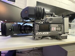 """Sony XDCAM HD PDW-F330 camcorder with YH19 Canon lens and viewfinder  1/2"""""""