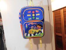 Bag~Nick Jr. Dora the Explorer 3-D Backpack With Bonus Bottle