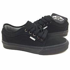 New Vans Chukka Low Pro Model Size 7 Men Chambray Black Gum Canvas Skate Shoe
