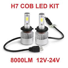 H7 COB LED 8000 LM HEADLIGHT Bulbs KIT 6500K UPGRADE 12 V e 24 V i veicoli