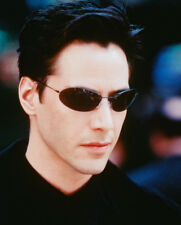 Keanu Reeves Matrix In Glasses 16x20 Canvas Giclee