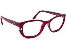 Fendi Women's Eyeglasses F998 525 Berry Full Rim Frame Italy 52[]17 135