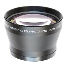 67mm 2.2X High Definition Teleobjektiv für Canon Nikon Sony 18 135mm Kameras