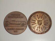1973 Porsche Christophorus Calendar Coin Münze RARE!! Awesome L@@K