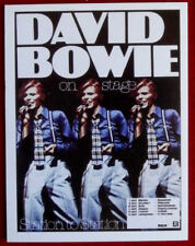 DAVID BOWIE - Individual Trading Card - Card #05 - Station to Station (On Stage)