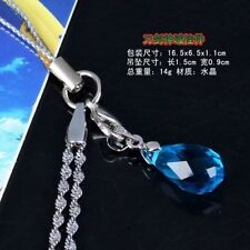 Anime Sword Art Online Asuna Yui Heart Blue Strap! USA Seller! IN-STOCK!