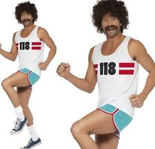 """Adult TV Fancy Dress Mens 118 Man Costume Outfit M 38-40"""" New by Smiffys"""
