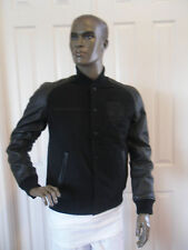 NIKE BASKETBALL LEATHER DESTROYER JACKET BLACK SZ 2XL XXL [500087-010]