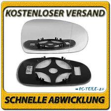 spiegelglas für AUDI TT 1998-2006 rechts asphärisch beheizbar beifahrerseite