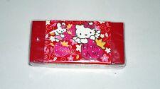 Eraser, Gomas de Borrar, Hello Kitty Goma Roja y Rosa, Regalo, NUEVO / NEW