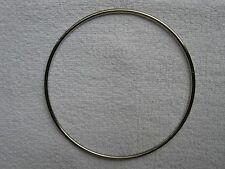 """18"""" Nickel Plated Welded Rings 40 rings/pcs bird parrot toy part crafts hardware"""