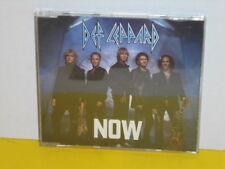 MAXI CD - DEF LEPPARD - NOW - PROMO