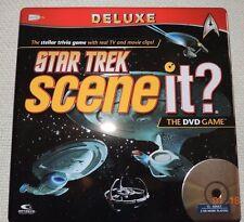 STAR TREK SCENEIt Deluxe Edition DVD HD Video Game, 2009) 100% COMPLETE! MINT!