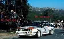 Hannu Mikkola Audi Quattro A1 Winner Portugal Rally 1983 Photograph 2