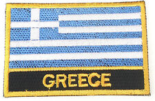 Greece Embroidered Sew or Iron on Patch Badge