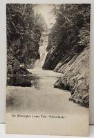 Adirondacks, The Wilmington Lower Falls 1908 Postcard C20