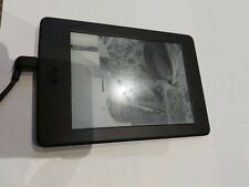 "AMAZON Kindle Paperwhite DP75SDI 6"" E-Reader E-Book Wifi Black SCREEN FAULTY"