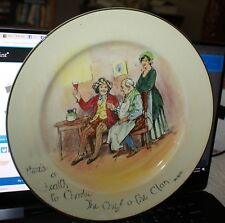 Royal Doulton England Chief of the Clan Bobbie Burns Series Plate D4419 1910