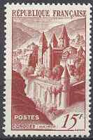 FRANCE TIMBRE ABBAYE DE CONQUES N°792 NEUF ** LUXE MNH
