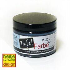 Tafelfarbe - Tafellack in Schwarz 140ml -Neu-  Heike Schäfer Design