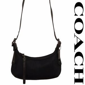 COACH AUTHENTIC BLACK SMALL HOBO N0. A3K-6671