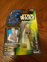 1996 Kenner Star Wars Luke Skywalker Hoth Gear Lightsaber POTF MOC (NO HOLO)