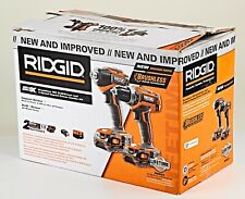 *RIDGID R9603 18-Volt Lithium-Ion Cordless Brushless Drill/Driver and Impact Kit