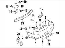 2009-2013 Infiniti G37 sedan 2011 G25 2015 Q40 energy absorber right rear bumper