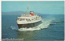Yarmouth - Bar Harbor Ferry Bluenose, Frenchmans Bay USA Postcard, B546