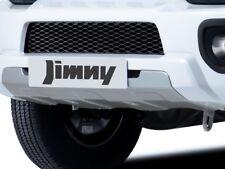 Genuine Suzuki JIMNY Front Skid Plate Bumper Extension SILVER 990E0-57M02