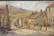 Yorkshire Postcard - Appletreewick, Wharfedale From Original Painting  DR151