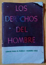 Los derechos del hombre. Libros para el pueblo num 10 - Rene Marq  Isabel Bernal