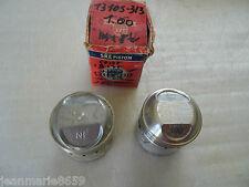 2 PISTONS NEUFS ORIGINE HONDA CB 175 K5 / US /COTE +1.00 REF.13105-313-010