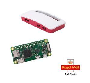 Raspberry Pi Zero W (Wireless) & Case and Camera Cable OR Essentials Kit