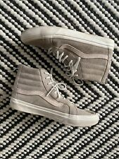 VANS Sk8-Hi Top SB Faded Gray Canvas Skateboarding Skate Shoes Women's 9