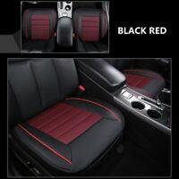 Universal Auto PU Leder Sitzauflage Sitzbezüge Kissen Sitzmatte Pad Schwarz&Rot