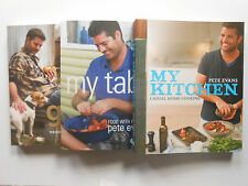 THE ESSENTIAL PETE EVANS COLLECTION - MY KITCHEN, MY TABLE, MY GRILL -SLIP COVER