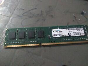 Crucial PC3-12800 4GB UDIMM 1600 MHz PC3-12800 DDR3 SDRAM Memory (CT51264BA160B…