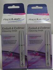 RapidLash Eyelash & Eyebrow Enhancing Serum 0.1 FL. OZ. Two Packs