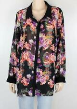 Autograph Polyester Long Sleeve Floral Tops & Blouses for Women