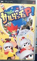 Sarugetchu P! Sony Playstation Psp REGION FREE JAPAN IMPORT Ape Escape Vtg Game