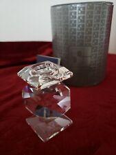 Swarovski Silver Crystal Candleholder - Very Rare